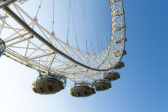 London Eye. The London Eye Seen from Across the Thames Royalty Free Stock Photos
