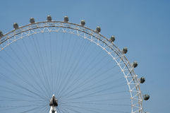 London Eye in the sky Royalty Free Stock Photos