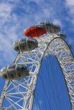 London eye. On the sky Stock Photos