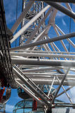 The London Eye Structure Stock Photo