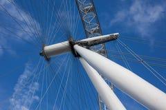 London Eye structure Stock Photos
