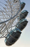 London Eye on a summer day Royalty Free Stock Photography
