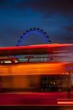 London Eye at sunset Stock Photos