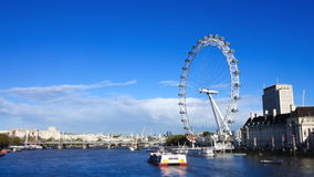 London Eye Time-Lapse stock footage