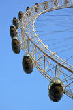 London Eye Tourist Attraction Detail Stock Image