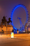 London Eye, UK. Stock Photos