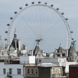 London eye (UK) Royalty Free Stock Photo