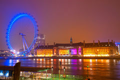The London Eye, UK- Royalty Free Stock Photos