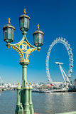 London Eye, UK. Stock Photography