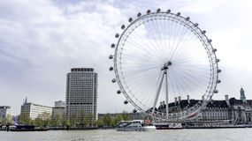 LONDON EYE. In London, UK stock photo
