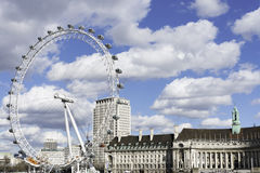 London Eye, UK Stock Photography