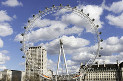 London Eye, UK Stock Image