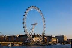 London Eye. In London, United Kingdom stock photo