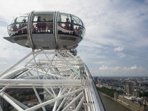 London Eye view from above Stock Image