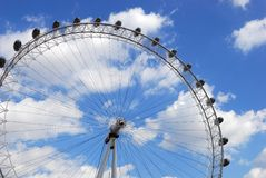The London Eye. Royalty Free Stock Photos