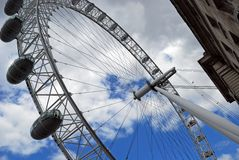 The London Eye. Royalty Free Stock Photo