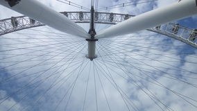 London eye. The view from under Stock Photography