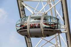 London Eye Viewing Pod Close Up Stock Photos