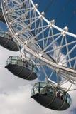 London Eye Wheel Stock Photo