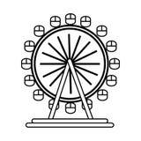 London eye wheel. Icon vector illustration graphic design Stock Photo