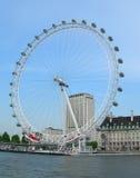 London Eye wheel in London, UK Stock Images