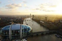 London eyes tube Stock Images