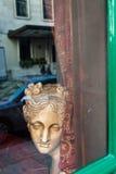 london fönster Arkivfoto