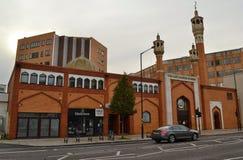 London för östlig London moské muslimsk mitt royaltyfri bild