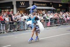 london för 2009 dräkt stolthet Arkivfoton