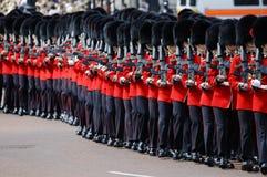 london för 2012 färg gå i skaror Arkivfoton