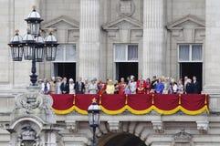 london för 2012 färg gå i skaror Royaltyfri Fotografi