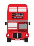 london för engelsk illustration för symbol för double för bussfärgdäckare set traditionellt olikt stock illustrationer
