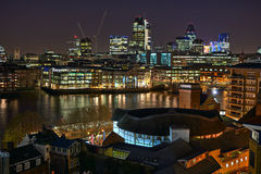 london för stadsengland Europa jordklot theatre uk Arkivfoton