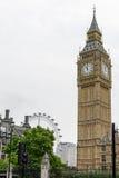 """London Förenade kungariket †""""Augusti 20: Big Ben bild och surround Royaltyfri Fotografi"""