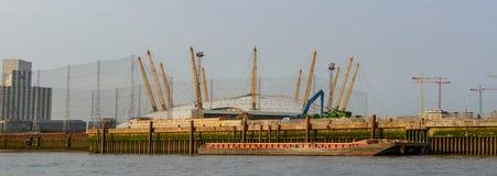 """London Förenade kungariket †""""Augusti 17: Horisontalsikt av O2en ar Royaltyfria Foton"""