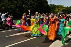 24/06/2018 London Förenade kungariket Älskvärda färger på gatorna Royaltyfria Bilder