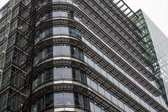 London Förenade kungariket - April 06 2017: Canary Wharf är ett av de två viktiga affärsområdena i London _ Royaltyfri Foto