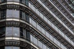 London Förenade kungariket - April 06 2017: Canary Wharf är ett av de två viktiga affärsområdena i London _ Royaltyfria Foton