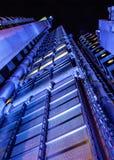 London Förenade kungariket - Oktober 7th, 2006: Th för byggnad för Lloyd ` s royaltyfri fotografi