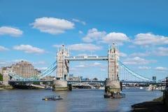 London famous landmark, tower bridge. London`s most iconic landmark building, Tower bridge over the river Thames Stock Photography