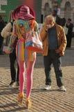 London Fashion Week Stock Photography