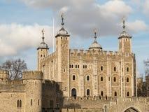 LONDON - 3. FEBRUAR: Tower von London am 3. Februar 2014 Unide Stockfotografie