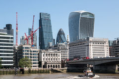 London financial center Stock Photo