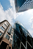 London Financial District Royalty Free Stock Images