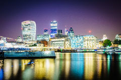 London financial district Royalty Free Stock Photography