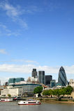 London Financial District Cityscape Stock Images