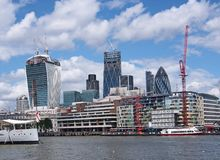 London financial district Stock Image