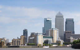 London financial district Stock Photo