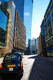 London financial district street Square Mile UK Stock Photos
