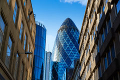 London financial district street Square Mile UK Stock Photography